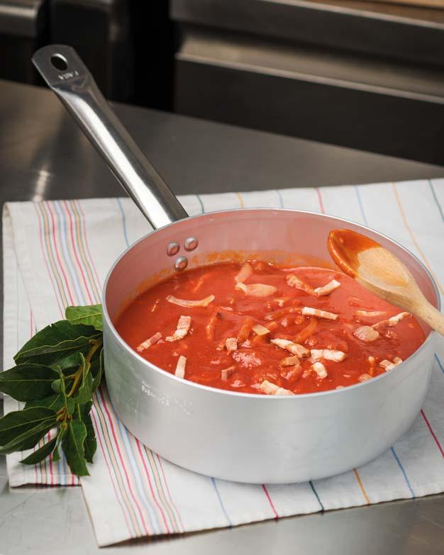 Fornitura semilavorati per ristoranti: sughi pronti